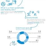 Infographic Sustainable and healthy nutrition