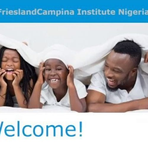 Digital launch of FrieslandCampina Institute Nigeria