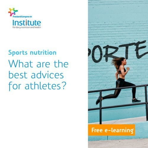 E-learning sports nutrition