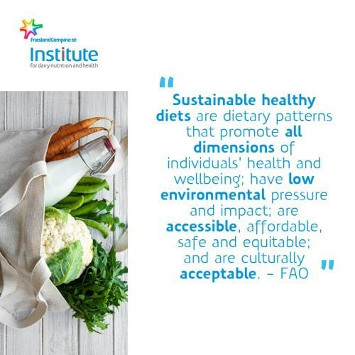 E-learning sustainable diets