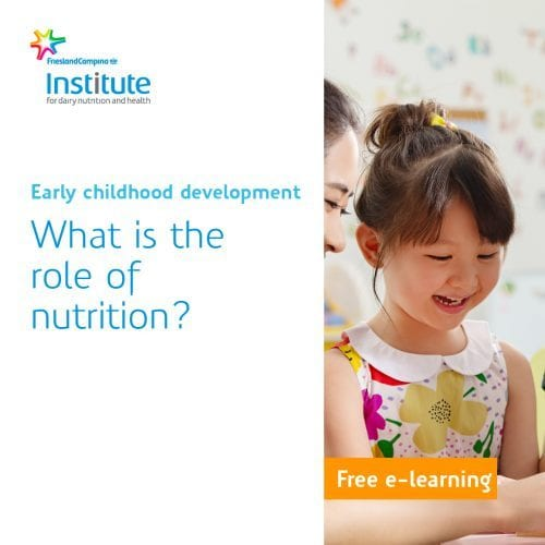 E-learning child development in the first 5 years
