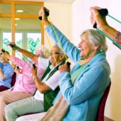 Eiwit en beweging bij ouderen