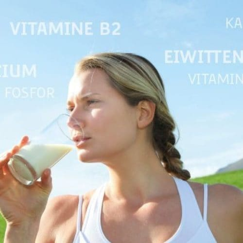 Voedingsstoffen in melk