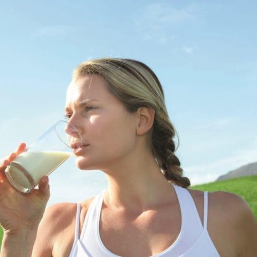 Melk: goede drank na het sporten?