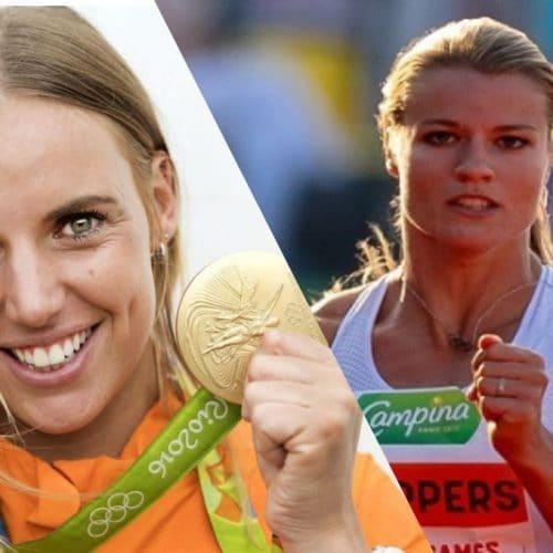 Dafne Schippers & Marit Bouwmeester