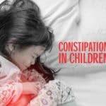 Constipation in children