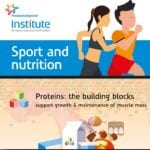 Infographic Sport and nutrition