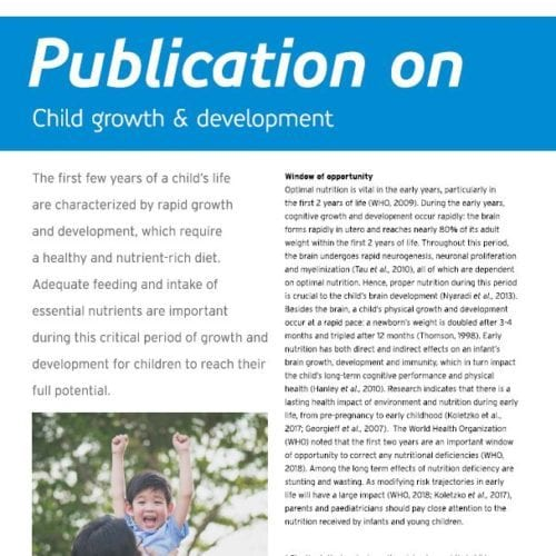 Publication on growth and development