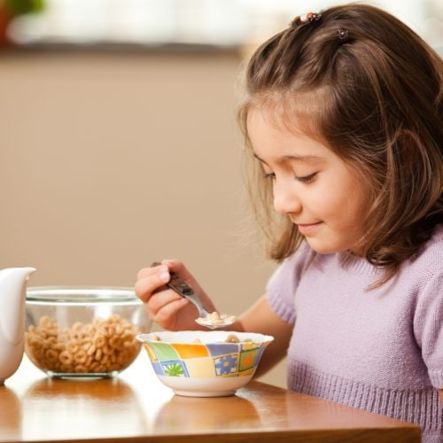 Overweight in children: the role of breakfast