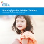 Publication Protein glycation in infant formula