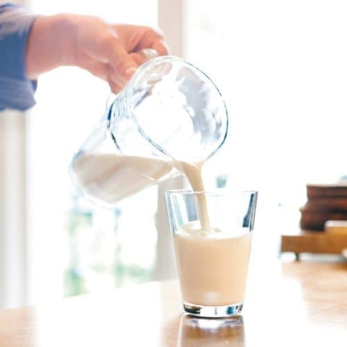 Melk en lichaamsgewicht