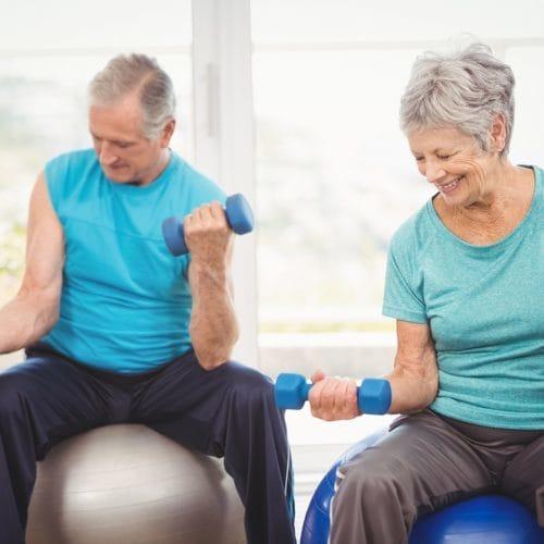Effect van melkeiwitsupplement bij ouderen