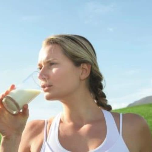 Les nutriments dans le lait