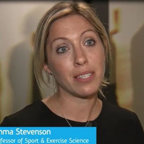 Emma Stevenson, Professor of Sport & Exercise Science (Newcastle University) on Nutrition and Sports.