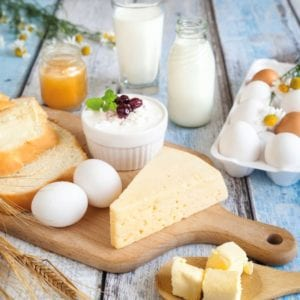 Voedingsstoffen in kwark 1
