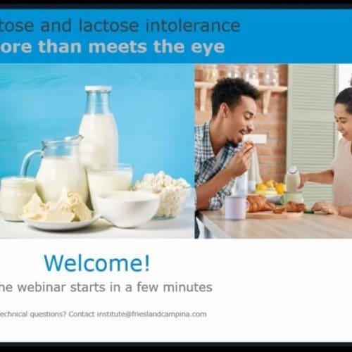 网络会议:乳糖和乳糖不耐受