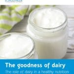 Publication The goodness of dairy