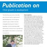 Publication Child growth and development