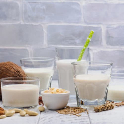 Nutritional differences between milk and plant-based drinks