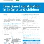 Practical tool functional constipation in infants and children – NEW