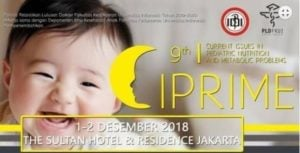 Current Issues in Pediatric Nutrition and Metabolic Problems (CIPRIME) 2018