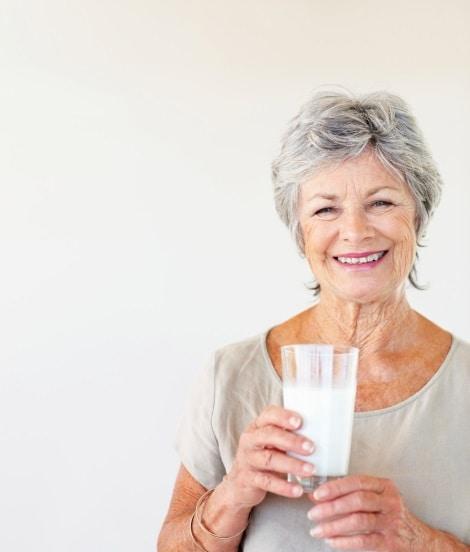Zuivel in voeding van ouderen