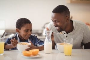 Overweight in children: the role of breakfast 2